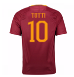 2016-17 Roma Home Shirt (Totti 10)