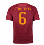 2016-17 Roma Home Shirt (Strootman 6)