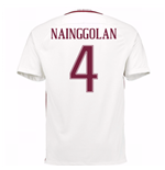 2016-17 Roma Away Shirt (Nainggolan 4) - Kids