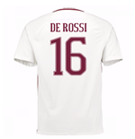 2016-17 Roma Away Shirt (De Rossi 16) - Kids