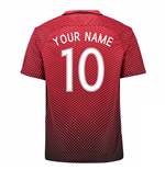 2016-17 Turkey Home Shirt (Your Name) -Kids
