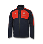 2016-2017 Arsenal Puma Performance Coach Jacket (Peacot-Red)
