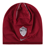 2016-2017 AS Roma Nike Training Beanie (Maroon)