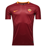 2016-2017 AS Roma Nike Vapor Home Match Shirt