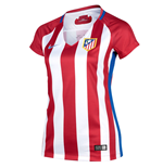 2016-2017 Atletico Madrid Home Nike Ladies Shirt