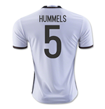 2016-2017 Germany Home Shirt (Hummels 5) - Kids