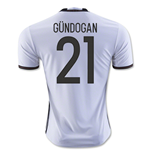 2016-2017 Germany Home Shirt (Gundogan 21) - Kids