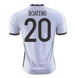 2016-2017 Germany Home Shirt (Boateng 20)