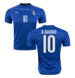2016-2017 Italy Puma Home Shirt (R.Baggio 10) - Kids