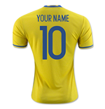 2016-2017 Sweden Home Adidas Shirt (Your Name)