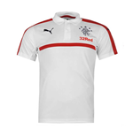 2016-2017 Rangers Puma Leisure Polo Shirt (White)