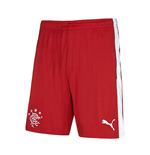 2016-2017 Rangers Away Football Shorts (Red) - Kids