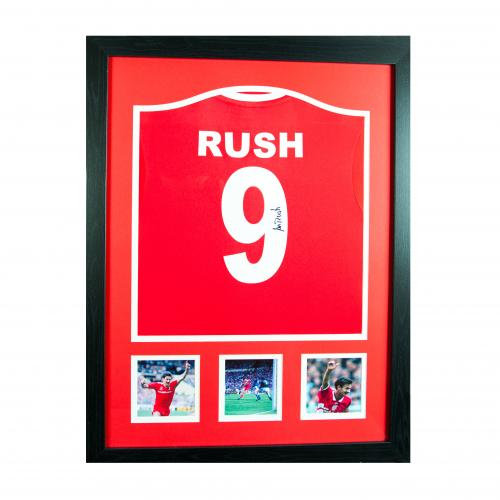 Liverpool F.C. Rush Signed Shirt (Framed)