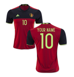 2016-2017 Belgium Home Shirt (Your Name)