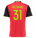 2016-2017 Belgium Home Shirt (Tielemans 31) - Kids