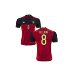 2016-2017 Belgium Home Shirt (Fellaini 8)