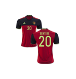 2016-2017 Belgium Home Shirt (Benteke 20) - Kids