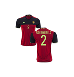 2016-2017 Belgium Home Shirt (Alderweireld 2)