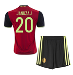2016-2017 Belgium Home Mini Kit (Januzaj 20)
