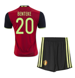 2016-2017 Belgium Home Mini Kit (Benteke 20)
