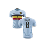 2016-2017 Belgium Away Shirt (Fellaini 8)