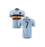 2016-2017 Belgium Away Shirt (De Bruyne 7)