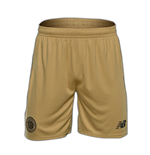 2016-2017 Celtic Away Change Shorts (Gold)