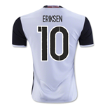 2016-2017 Denmark Away Shirt (Eriksen 10)