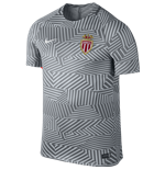 2016-2017 Monaco Nike Dry Pre-Match Training Shirt (Cool Grey)