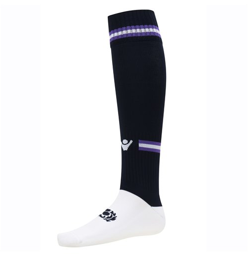 2016-2017 Scotland Macron Home Rugby Socks (Navy)