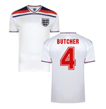 Score Draw England World Cup 1982 Home Shirt (Butcher 4)