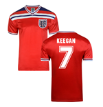 Score Draw England World Cup 1982 Away Shirt (Keegan 7)