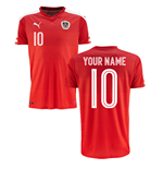 2016-2017 Austria Home Shirt (Your Name) -Kids