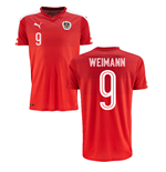 2016-2017 Austria Home Shirt (Weimann 9) - Kids