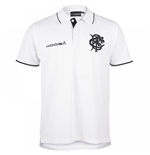 2016-2017 Barbarians Pique Polo Shirt (White)