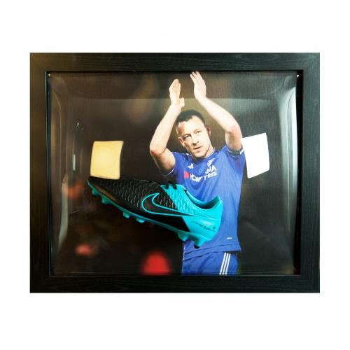 Chelsea F.C. Terry Signed Boot (Framed)