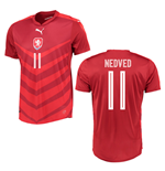 2016-2017 Czech Republic Home Shirt (Nedved 11)