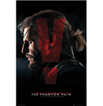 Metal Gear Solid V - Cover Poster Maxi (61x91,5 cm)