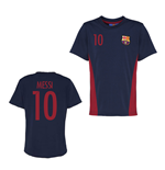 Official Barcelona Training T-Shirt (Navy) (Messi 10)