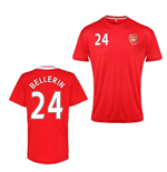 Official Arsenal Training T-Shirt (Red) (Bellerin 24)
