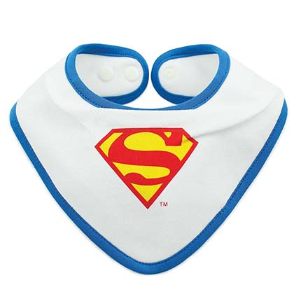 SUPERMAN Waterproof Bib