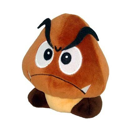 Super MARIO Bros Goomba Plush Doll