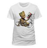 Guardians of the Galaxy 2 T-Shirt Groot & Tape