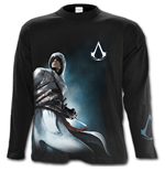 Altair Side Print - Assassins Creed Longsleeve Black