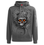Roots Of Hell - Hoody Charcoal
