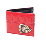 MARVEL COMICS Guardians of the Galaxy Vol. 2 Guardians Shield Logo Bi-Fold Wallet, Red/Black