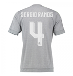 2015-16 Real Madrid Away Shirt (Sergio Ramos 4) - Kids