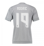 2015-16 Real Madrid Away Shirt (Modric 19) - Kids