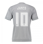 2015-16 Real Madrid Away Shirt (James 10)