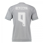 2015-16 Real Madrid Away Shirt (Benzema 9)